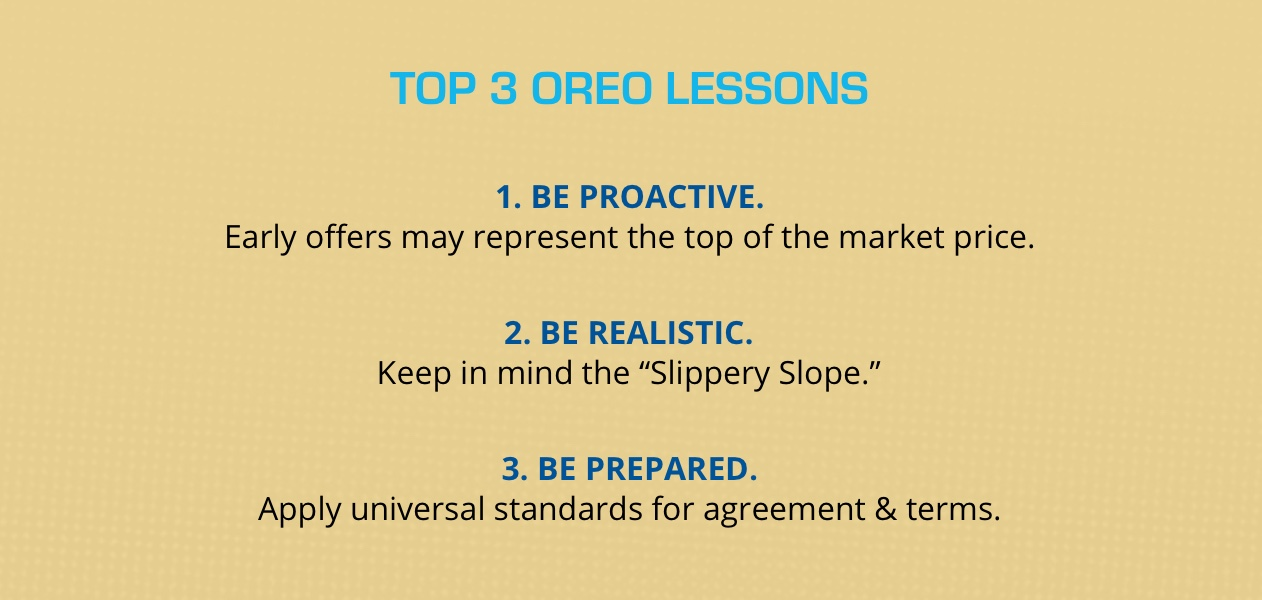 Top 3 OREO Lessons