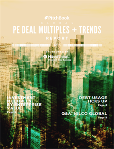 Pitchbook Deals and Multiples Trends 2015 IMage