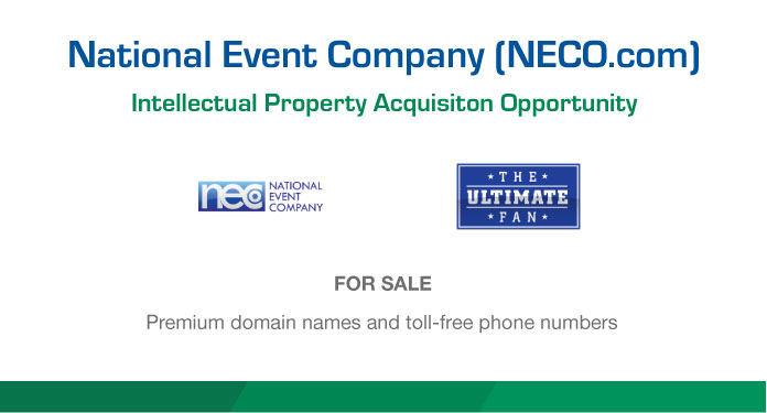 Neco domains available